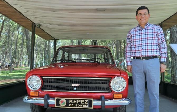 Tütüncü'den Antalya'ya Nostaljik Araç Koleksiyonu