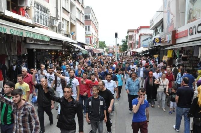 Sakarya'da Doğu Türkistan İçin Yürüyüş