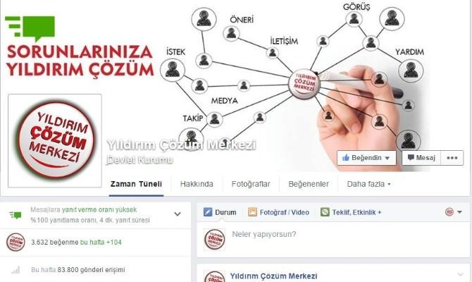 Sosyal Paylaşım Sitesi Facebook, Yıldırım Belediyesi'ni 'Yeşil Simge' İle Ödüllendirdi