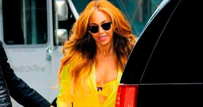 Beyonce'nin tercihi Türk kumaşı