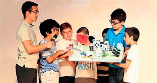 Genç bilimciler gelişiyor