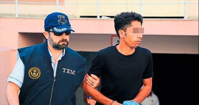 İzmir'de yakalanan bombacı adliyede