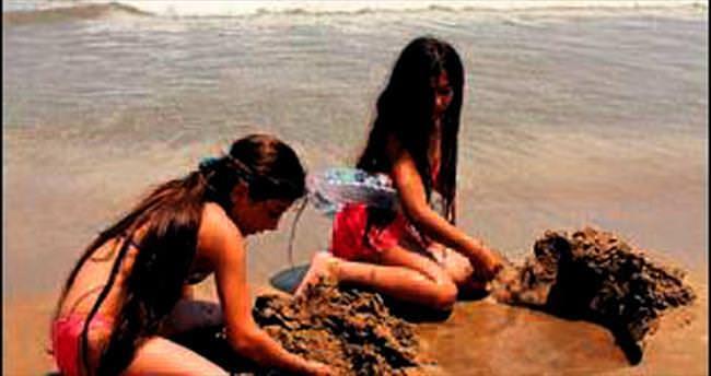 Kızkalesi'nde turizmci gurbetçiler bekleniyor