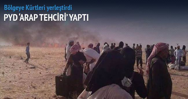 PYD 'Arap tehciri' yaptı