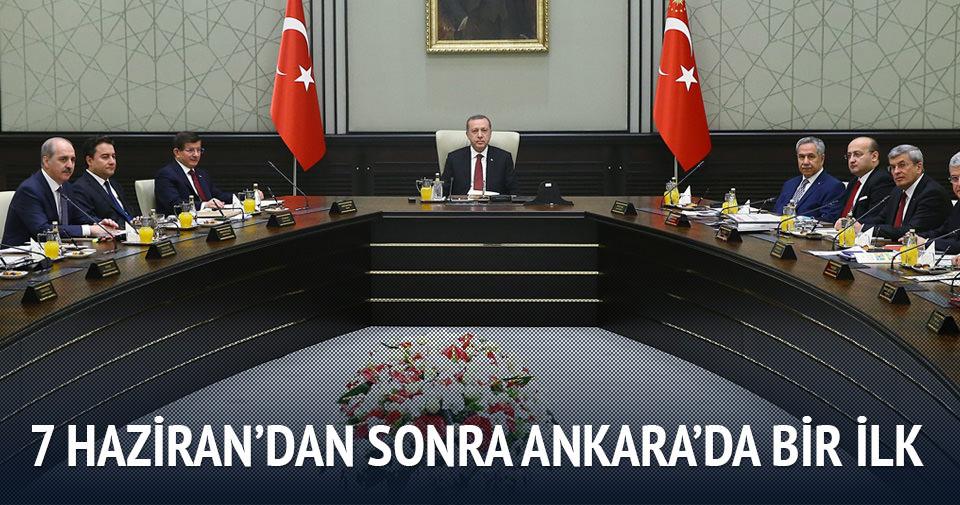 7 Haziran'dan sonra Ankara'da bir ilk