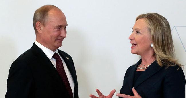 Clinton: Putin'le ilişkileri sürdürmekten başka çaremiz yok
