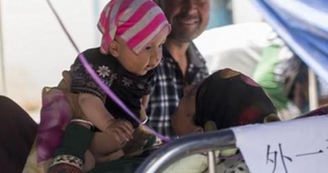 Uygur Türklerinin yüzünü güldüren fotoğraf
