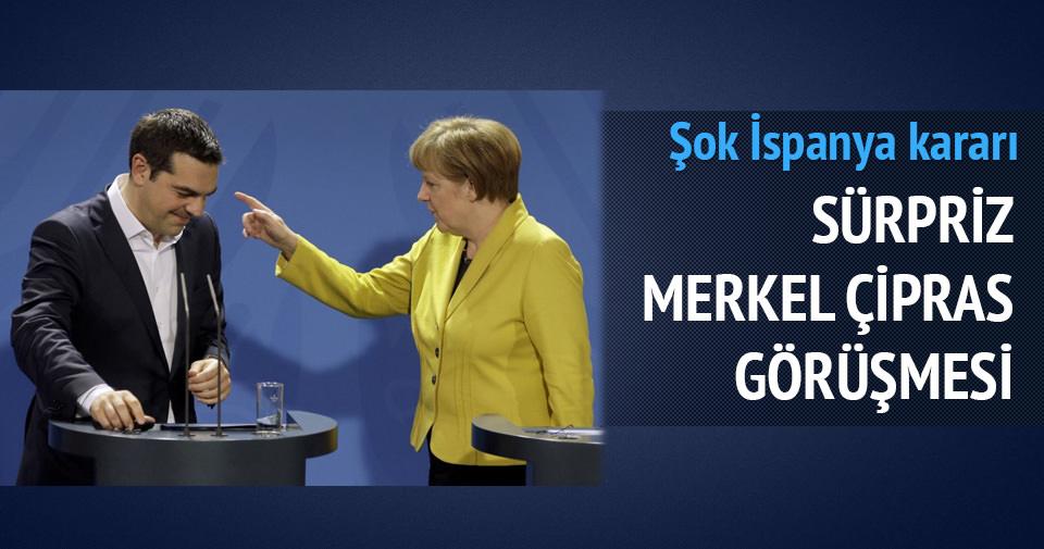 Çipras, Merkel'le telefonda görüştü