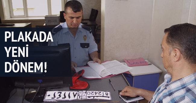 2 bin 76 Suriyeli'nin aracına geçici plaka verildi