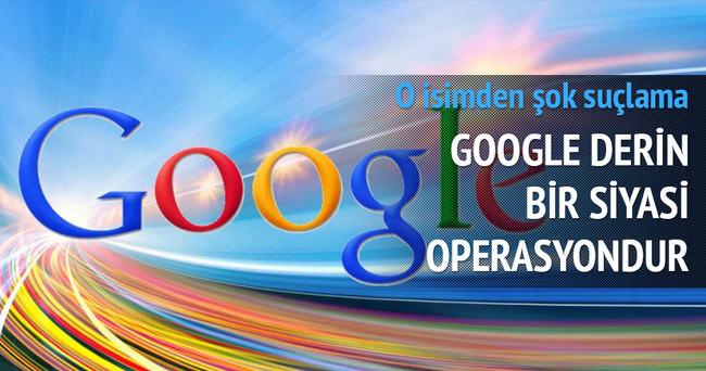 Google için olay suçlama!