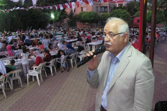 Araban Belediyesi 2 Bin 600 Kişilik İftar Yemeği Verdi