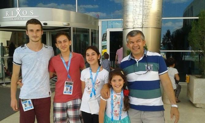 Avrupa Okullar Satranç Şampiyonasına Ortaca'dan 9 Sporcu Katıldı