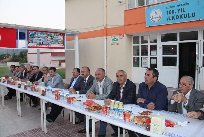 Ortaköy Belediyesi'nden İftar Yemeği