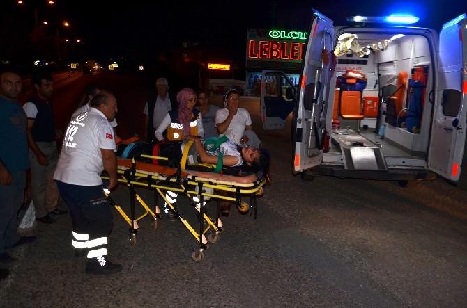 Osmancık'ta Trafik Kazaları: 2 Yaralı