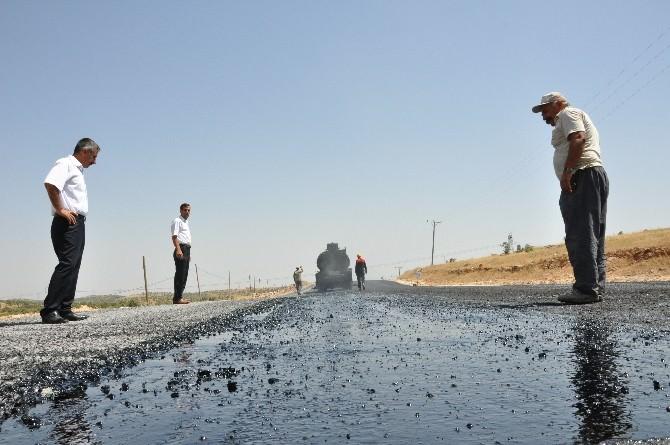 Dargeçit'te Yollar Asfaltlanıyor