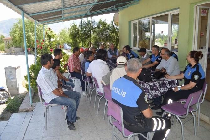 Fatih Mahallesi'nde Huzur Toplantısı Yapıldı