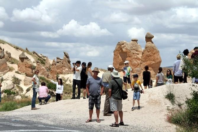 Kapadokya'yı 6 Ayda 1 Milyon 244 Bin Turist Gezdi