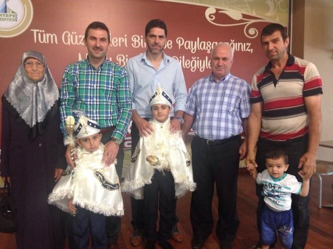 Kartepe'nin Sünnet Çocuklarına Kıyafetleri Dağıtıldı