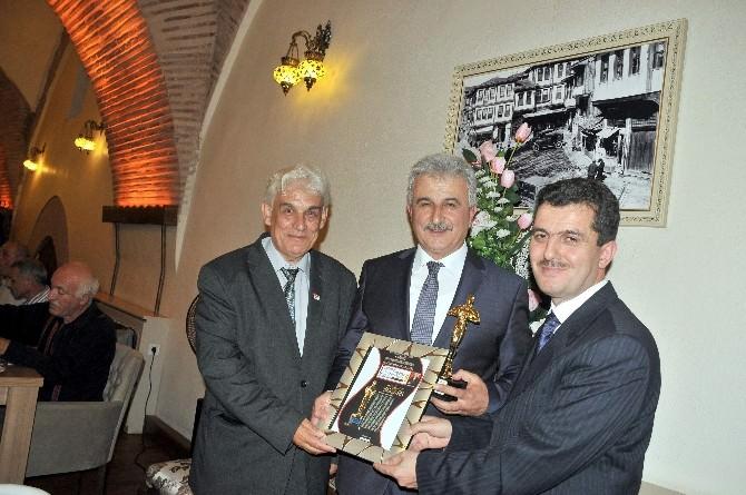 Kesob Başkanı Dursun Ergin'e Büyük Ödül