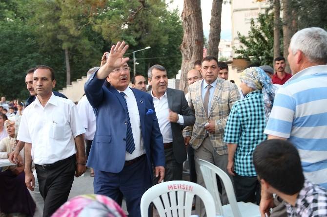 Mersin Büyükşehir Belediyesi'nden 4 Bin Kişiye İftar