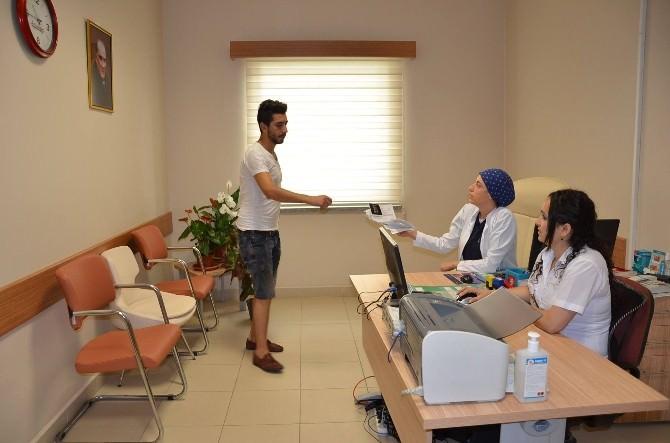 Nazilli'de İlk Bayan Cerrah Görevine Başladı