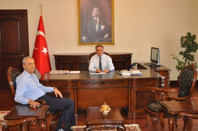 Balcı'dan Vali Tapsız'a Veda Ziyareti