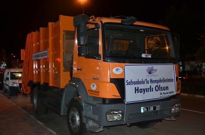 Safranbolu Belediyesi Filoya Bir Araç Daha Kattı
