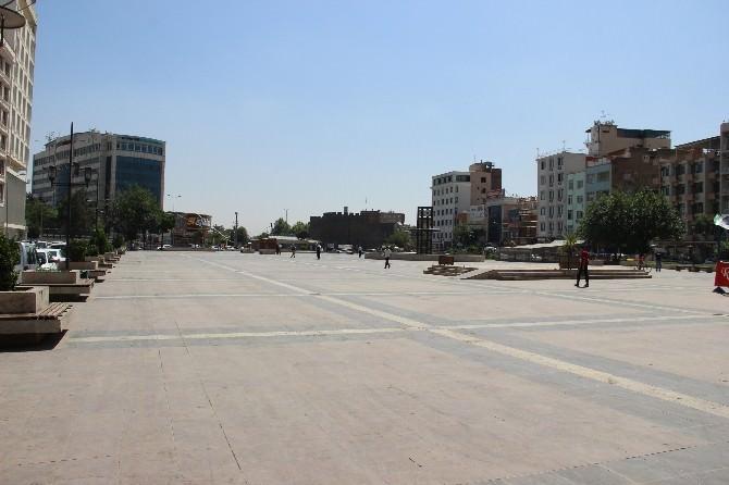 Sıcaklar Diyarbakır'ı Hayalet Şehre Dönüştürdü