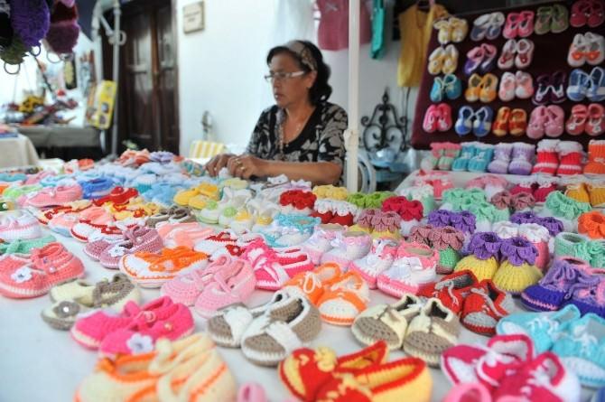 Minik Ayaklar İçin Rengarenk Patikler Hamamönü'nde