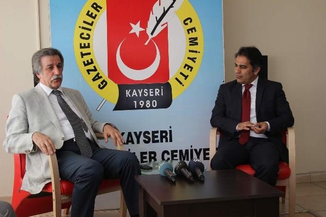 Türkiye Sağlık Enstitüleri Başkanı Prof Dr. Keleştemur'dan Gazeteciler Cemiyeti'ne Ziyaret
