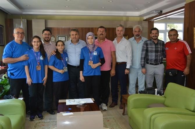 Başkan Çerçi Başarılı Sporcuları Ağırladı