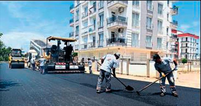 Doğuyaka'da yeni yollar açılıyor