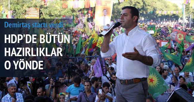 HDP erken seçime