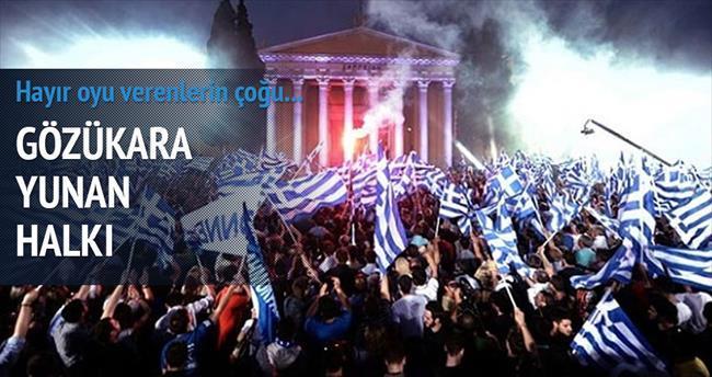 Yunanistan halkı korkmuyor