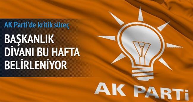 AK Parti Başkanlık Divanı'nı bu hafta belirliyor