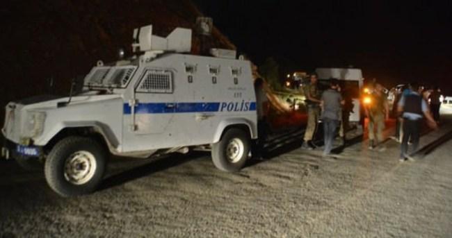 Siirt'te silahlı saldırı! 1 polis şehit oldu