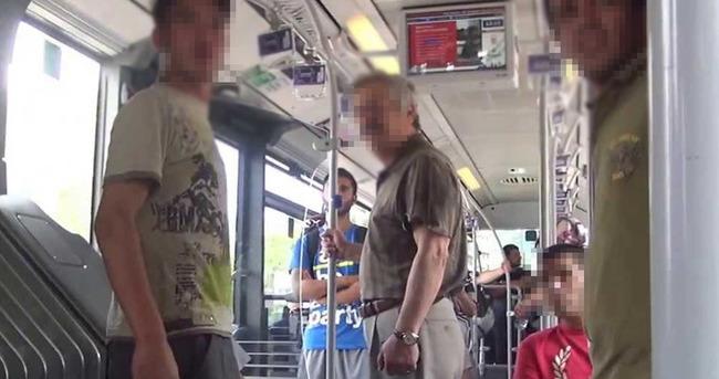 Otobüste elle tacize 2 yıl
