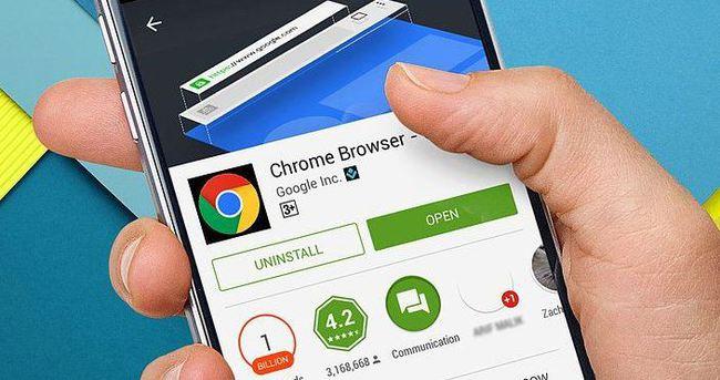 Google Chrome mobilde 1 milyarı gördü