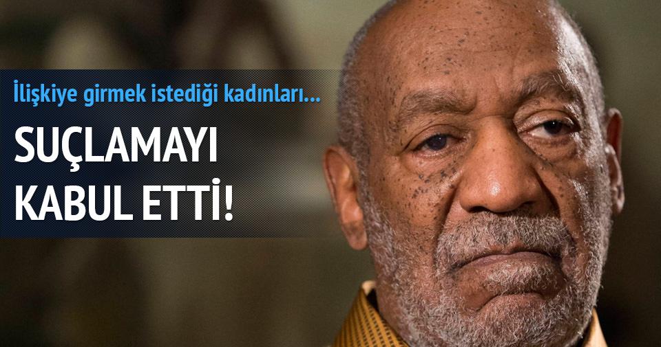 Bill Cosby suçlamayı kabul etti