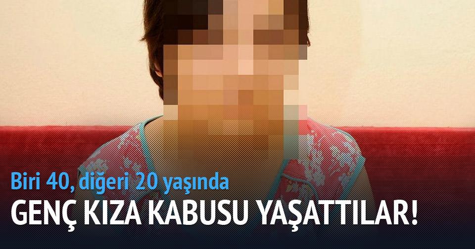 Genç kızı kandırıp tecavüz ettiler