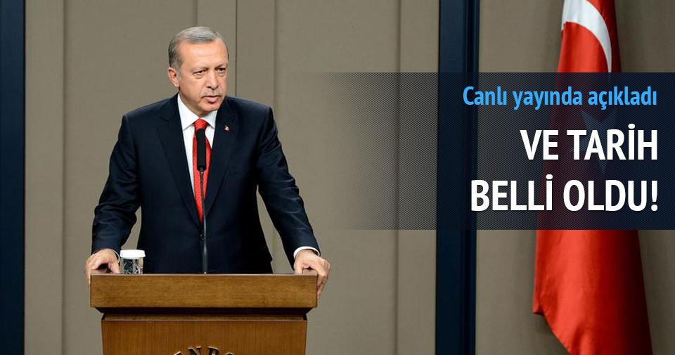 Erdoğan'ın hükümeti kurma görevi vereceği tarih belli oldu