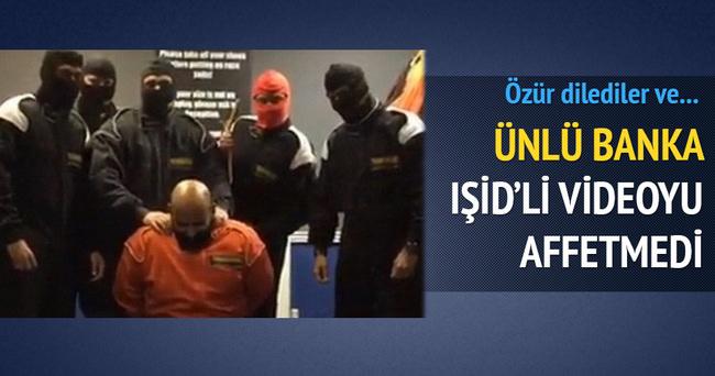 'Sahte IŞİD videosu' çeken HSBC çalışanları kovuldu