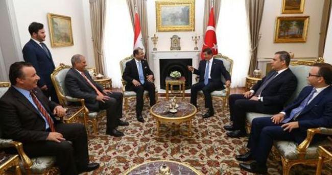 Başbakan Davutoğlu, Cuburi ile görüştü