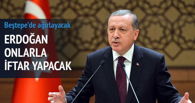 Erdoğan, vatandaşlarla iftar yapacak