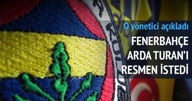 Fenerbahçe Arda Turan'ı resmen istedi!