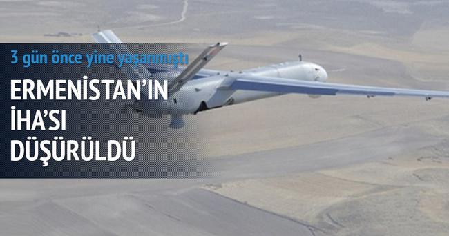 Azerbaycan yine Ermenistan'ın İHA'sını düşürdü