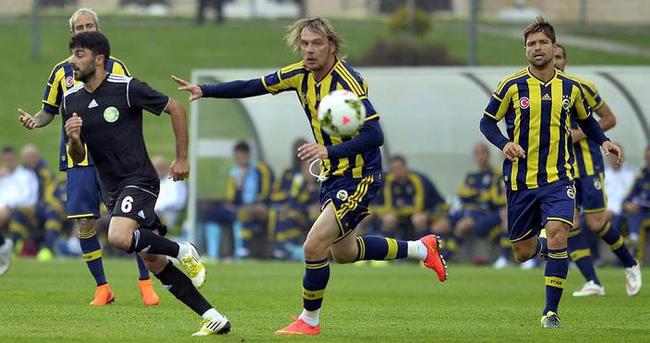 Fenerbahçe Şanlıurfaspor ile karşılaştı