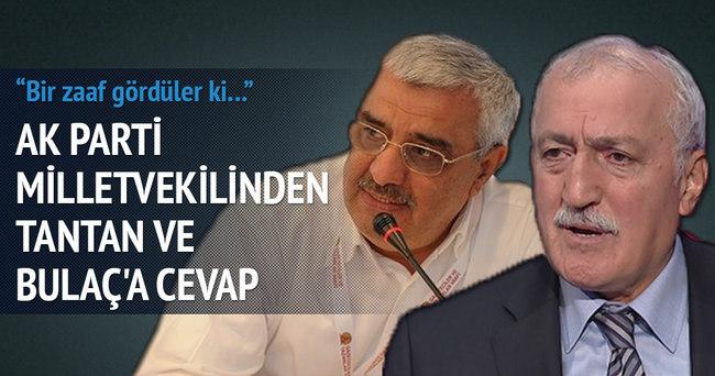 AK Parti milletvekilinden Tantan ve Bulaç'a cevap