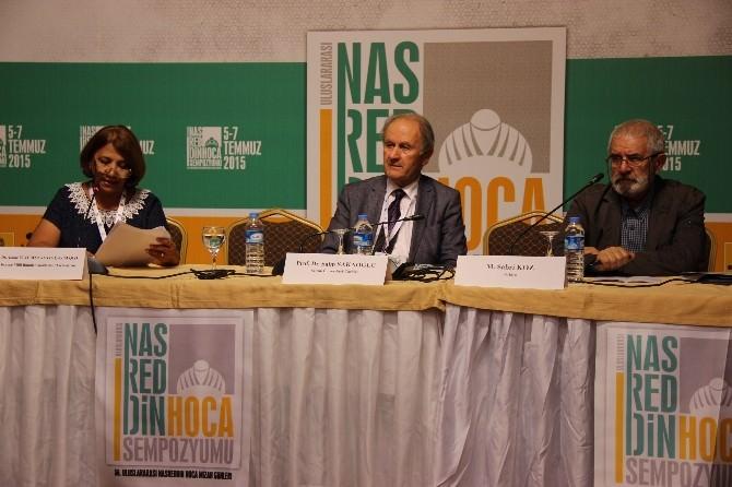 Uluslararası Nasreddin Hoca Sempozyumu Sona Erdi