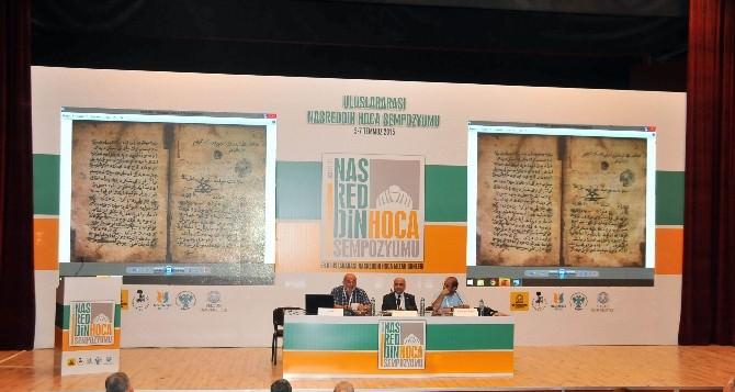 Akşehir'de Uluslararası Nasreddin Hoca Sempozyumu